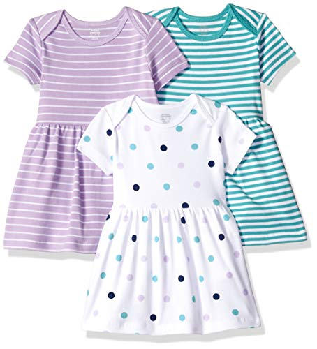 Amazon Essentials Baby Girl's 3-Pack Dress