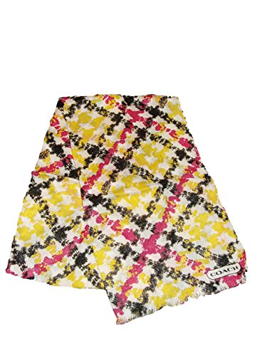 Coach - 83979 - Daisy Plaid Scarf/Wrap - Multi