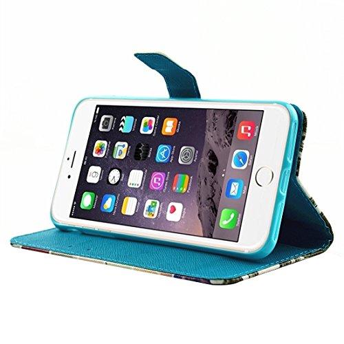 Hülle für iPhone 7 plus , Schutzhülle Für iPhone 7 Plus Malerei Eiffelturm Muster Horizontale Flip Leder Tasche mit Halter & Card Slots & Wallet ,hülle für iPhone 7 plus , case for iphone 7 plus ( SKU IP7P3639J