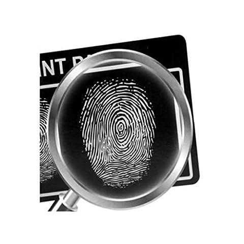 Edealing (TM) DIY Fingerabdruck-Verifizierungs-Set Wissenschaft Laboranalyse Experimente Spielzeug Pädagogisches Detektiv Spiel für (Wissenschaft Experimente Licht)