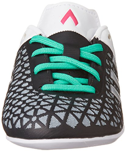 adidas Unisex-Kinder Ace 15.3 in Fußballschuhe Schwarz (Core Black/Matte Silver/Shock Mint S16)