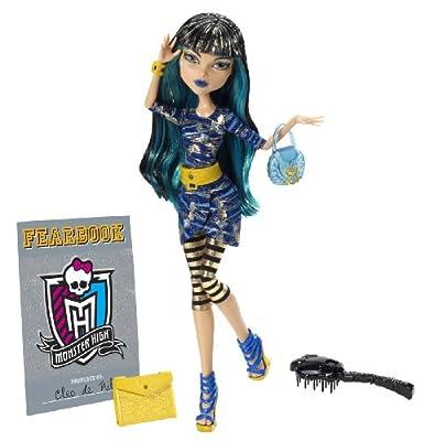 Mattel Y8500 Monster High - Muñeca de Cleo de Nile con anuario por Mattel