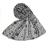 Sri Belha Fashions Scarves Soft PolyCotton Fashion Trendy Women's Summer Scarf