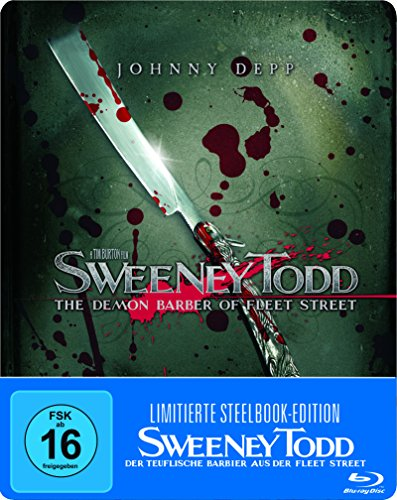 Sweeney Todd - Der teuflische Barbier aus der Fleet Street (Steelbook) (exklusiv bei Amazon.de) [Blu-ray] [Limited Edition]