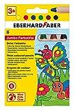 Eberhard Faber 518906 - Mini Kids Club, 6 Buntstifte im Kartonetui
