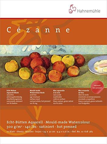 Aquarellblock Cézanne' satiniert, 300g/m², 24x32cm, 10Blatt'