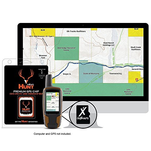 HUNT Wyoming by onXmaps - Public/Private Land Ownership 24k Topo Maps for Garmin GPS Units (microSD/SD Card) by HUNT by onXmaps Garmin Topo 24k