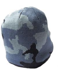 Bonnet pour enfant, design style camouflage