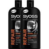 Syoss - Shampooing - Repair Expert - Flacon 500 ml - Lot de2