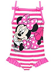 Disney Minnie Mouse Mädchen Minnie Mouse Badeanzug 104