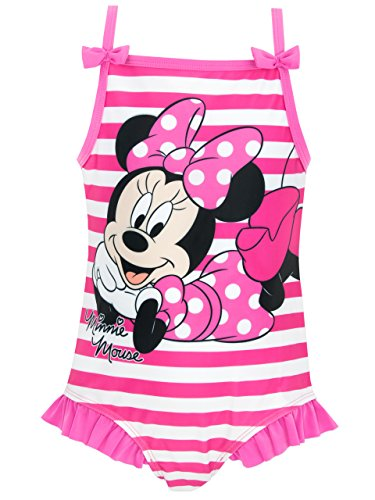 Disney Minnie Mouse Mädchen Minnie Mouse Badeanzug 110