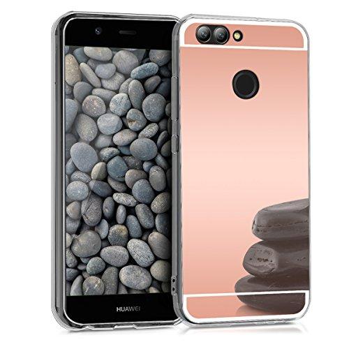kwmobile Huawei Nova 2 Hülle - Handyhülle für Huawei Nova 2 - Handy Case in Rosegold spiegelnd