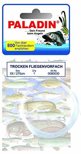 Fliegenvorfach TROCKEN, 0x/0,28 mm, 2,7 m Länge