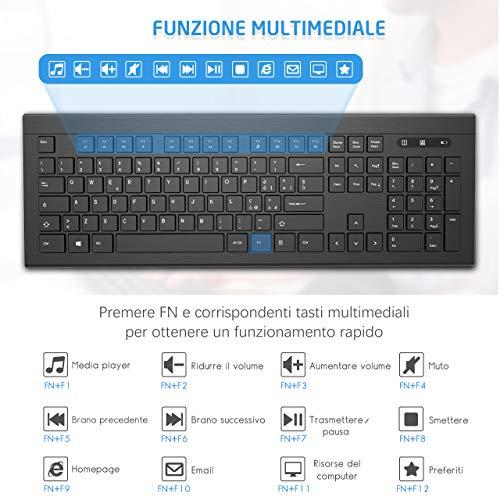 Zoom IMG-2 topelek tastiera wireless italiana ultrasottile