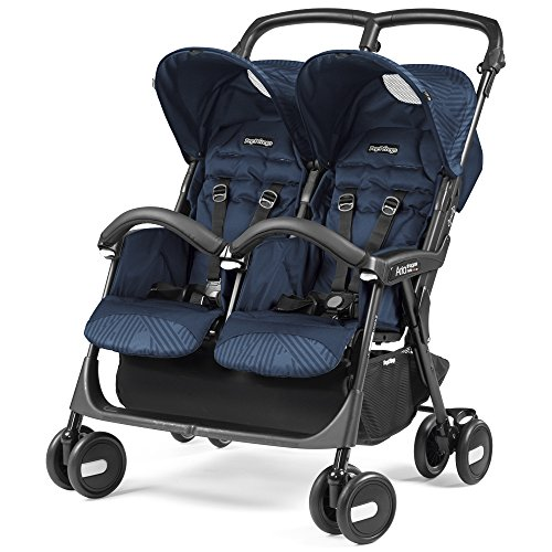 Peg Perego DASTA1GNAV Aria Shopper Twin, Geo Navy
