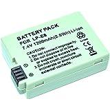 MP Power reemplazo Batería LP-E8 LPE8 para Canon EOS 500D 550D 600D 650D 700D rebel T2i T3i T4i T5i T6i