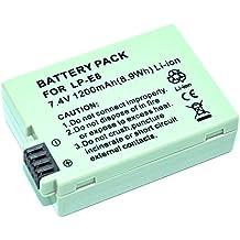 MP Power Reemplazo Batería LP-E8 LPE8 para Canon EOS 550D 600D 650D 700D Rebel T2i T3i T4i T5i T6i