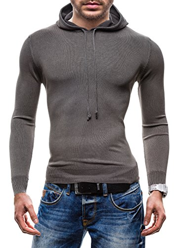BOLF - Pull - Tricot – S-WEST R918 - Homme Gris