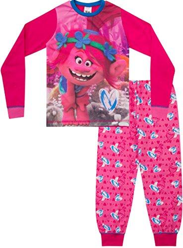 ThePyjamaFactory Trolls Poppy Pyjamas Girls DreamWorks Pyjama Set PJ 6 To 12 Years
