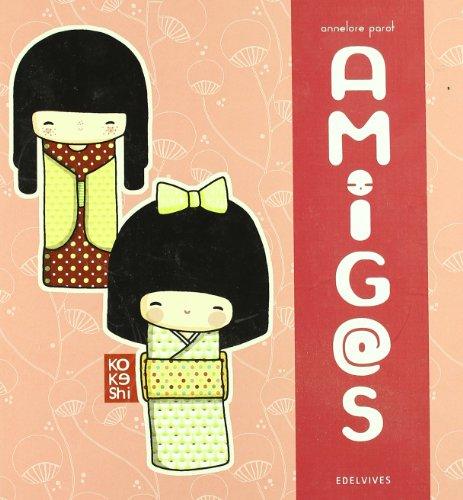 Amig@s (Kokeshi) por Annelore Parot