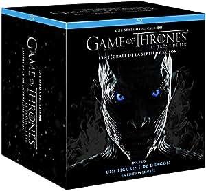 Game of Thrones – Saison 7 – Edition Limitée Collector - Inclus un Contenu Exclusif et Inédit « Conquête & Rébellion - L'histoire des Sept Couronnes » [BLURAY]