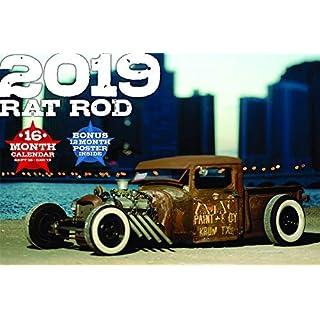 2019 RATROD Deluxe Wall Calendar