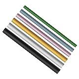 6stk. C Curve Metallstange Metallstab für Französische Acryl Nagelkunst Spitzen Maniküre Werkzeug