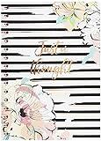 Hardcover Spiraljournal Notizbuch, drahtgebundenes Journal Notizbloc Notizbuch Tagebuch weißes starkes gezeichnetes Papier