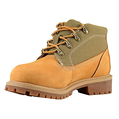 Timberland Youths 6-Inch Campsite Leather Boots Blé