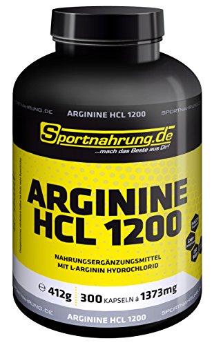 Sportnahrung.de Arginine HCL 1200 300 Kaps.