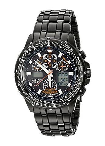 Citizen - JY0005-50E - Montre Homme - Quartz - Digitale - Bracelet Acier inoxydable