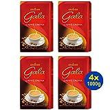 EDUSCHO Gala Caffè Crema ganze Bohnen 4x 1000g - Kaffee für höchsten Genuss