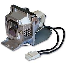 Alda PQ Original, Lámpara de proyector para BENQ MP525ST Proyectores, lámpara de marca con PRO-G6s viviendas