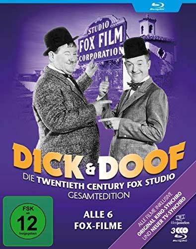 Dick und Doof - Die Fox-Studio-Gesamtedition (Alle 6 Fox-Filme) (Filmjuwelen) [Blu-ray]