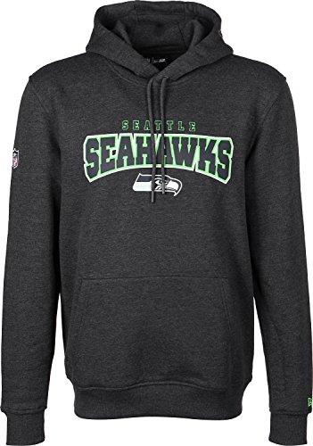 New Era - NFL Seattle Seahawks Ultra Fan Hoodie - graphite Grau