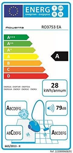 Rowenta Compact Power Cyclonic RO3753 Aspirador color negro