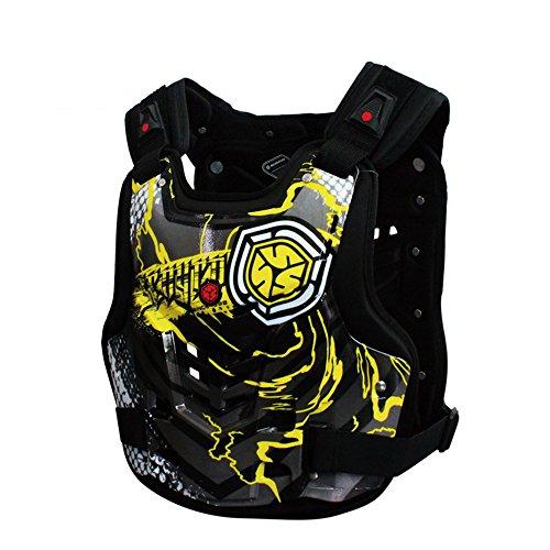 Outdoor Sport Zubehör Fahrrad Radfahren reiten Motocross Getriebe Motorrad Racing Schutz körperpanzer rüstung Jacke Schutz Motobike (Größe : M)