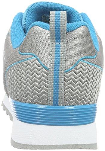 Skechers Og 85Quick Stitch, Baskets Basses Femme gris (LGBK)