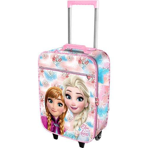 Karactermania 51890 frozen valigia per bambini, 46 cm, 26 litri, rosa