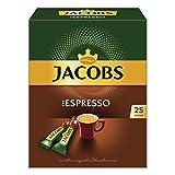 Jacobs Typ Espresso, löslicher Kaffee, Instantkaffee, Instant Kaffee, 25 Einzelportionen