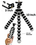 #9: Cellularplatform 13 inch Height Fully Flexible Foldable Octopus Mini Gorilla Tripod Stand for Mobile Camera