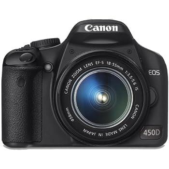 Canon EOS 450D - Cámara Réflex Digital 12.2 MP (Objetivo EFS18 ...