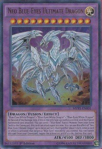 Preisvergleich Produktbild Yu-Gi-Oh! - Neo Blue-Eyes Ultimate Dragon (MVP1-EN001) - The Dark Side of Dimensions Movie Pack - 1st Edition - Ultra Rare by Yu-Gi-Oh!