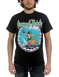 Sacred Reich - - Hombres Surf Nicaragua T-Shirt en Negro