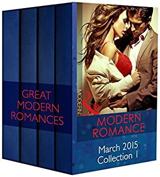 book cover of Modern Romance March 2015 Collection 1