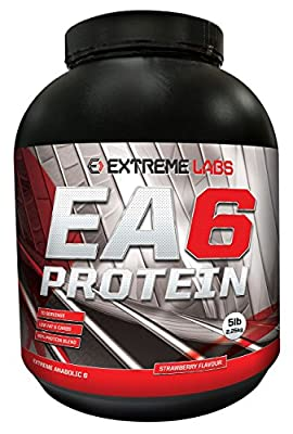 Extreme Labs 2.25 kg EA6 Extreme Anabolic Lean Protein Strawberry Powder from Extreme Labs