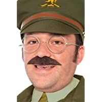 Smiffys - Disfraz de capitán de la segunda guerra mundial para hombre, talla única (