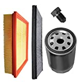 Inspektionspaket SET A 1x Luftfilter 1x Innenraumfilter (Pollenfilter) mit Aktivkohle 1x Ölfilter 1x Ölablass-Schraube 1x Dichtring für Ölablass-Schraube