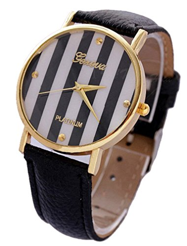 Geneva Geneva Platinum Bande - Reloj Color Negro