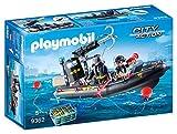 Playmobil City Action 9362 - Gommone Unità Speciale con Refurtiva, dai 4 anni